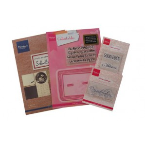 Marianne D Assortiment set Schooltime (UK) PA4046 (06-17)