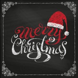 CraftEmotions servetten 5st - Merry Christmas 33x33cm Ambiente 33304750