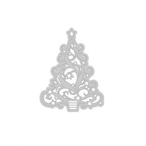 Tonic Studios Die - Rococo Christmas - Christmas tree 078E