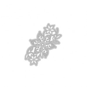 Tonic Studios Die - Rococo Christmas - Poinsettia strip 080E