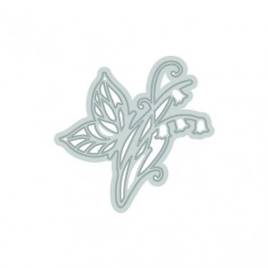 Tonic Studios Die - Rococo petite - bluebell butterfly 1010E