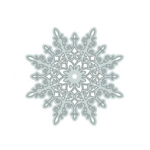 Tonic Studios Die - Rococo Christmas - snow crystal die 1016E