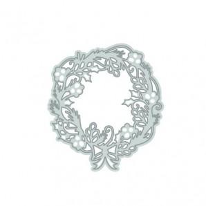 Tonic Studios Die - Rococo Christmas - wreath die 1017E