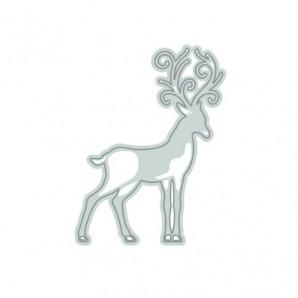 Tonic Studios Die - Rococo Christmas - reindeer die 1018E