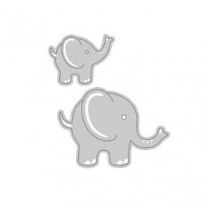 Tonic Studios Die - Rococo adorable elephants 1272E