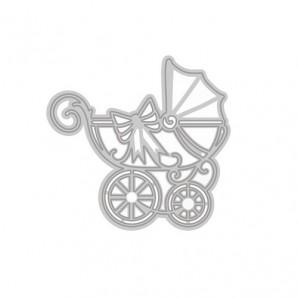 Tonic Studios Die - Rococo regal carriage 1274E