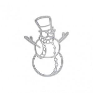 Tonic Studios Die - Rococo joyful snowman 1376E