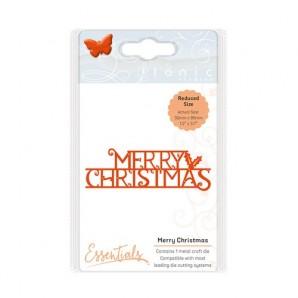 Tonic Studios Christmas sentiments - Merry Christmas die 1404E (10-16)