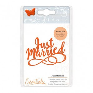 Tonic Studios Die miniature moments - just married 1415E