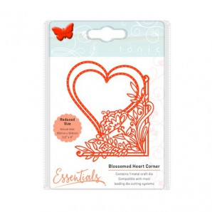 Tonic Studios Die fanciful floral - blossomed heart 1535E