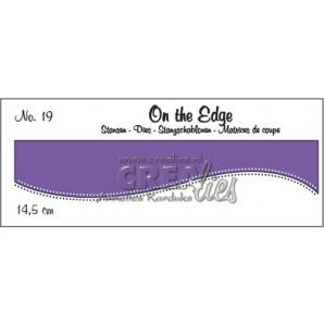 Crealies On the edge stans no 19 CLOTE019 / 14,5 cm (10-16)