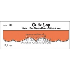 Crealies On the edge stans no 20 CLOTE020 / 14,5 cm (10-16)