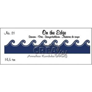 Crealies On the edge stans no 21 CLOTE021 / 14,5 cm (10-16)