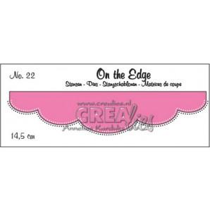 Crealies On the edge stans no 22 CLOTE022 / 14,5 cm (10-16)