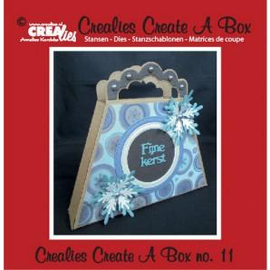 Crealies Create A Box no. 11 Tas 14,6 x 17,7 cm / CCAB11 (09-16)