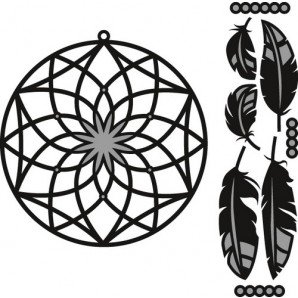 Marianne D Craftable Dreamcatcher CR1373 (New 07-16)