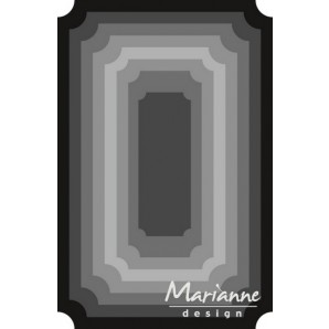 Marianne D Craftable Basic Ticket CR1391 12x19cm (01-17)