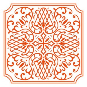 Marianne Embossing Folder Square DF3426