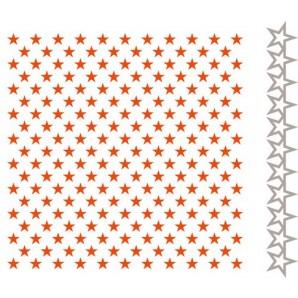 Marianne D Embossing folder & Die - Kleine sterren DF3427 (New 07-16)
