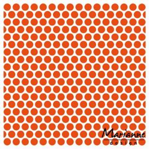 Marianne D Embossing folder Stippen DF3431 14,5x19 cm (01-17)