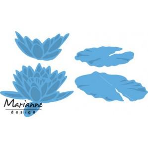 Marianne D Creatable Tiny's waterlelie groot LR0460 9,0x20cm (03-17)