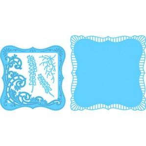Marianne D Creatable Anja's vierkant met swirls LR0470 16,0x18,5cm (06-17)