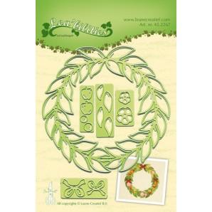 LeCrea - Lea'bilitie Wreath all seasons snij en embossing mal 45.2267 (08-16)