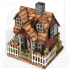 Sizzix Bigz Die - Village Cottage 661196 Tim Holtz (new 05-16)