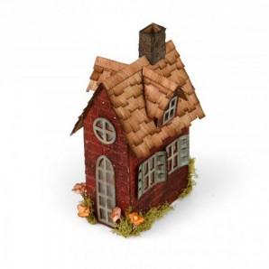 Sizzix Bigz XL Die - Village Brownstone 661205 Tim Holtz (new 05-16)