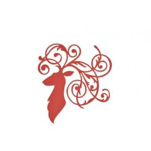 Sizzix Thinlits Die - Elegant Deer 661300 Pete Hughes (08-16)