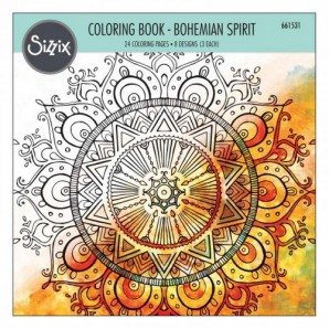 Sizzix Colouring Book - Bohemian Spirit 661531 Lindsey Serata (06-16)