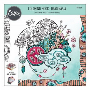 Sizzix Colouring Book - Imaginasia 661534 Katelyn Lizardi (06-16)