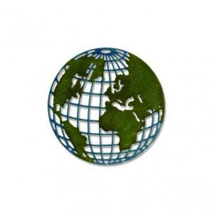 Sizzix Thinlits Die - Globe mini 661598 Tim Holtz (09-16)