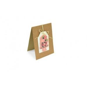Sizzix Framelits Die Set w/stamp - Floral Cake 3PK 662167 (07-17)