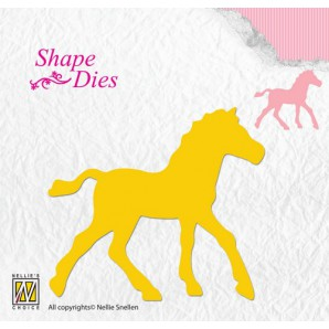Nellies Choice Shape Die - paard SD107