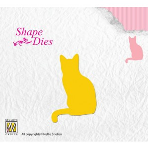 Nellies Choice Shape Die - poes SD108