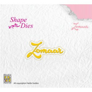 Nellies Choice Shape Die - NL - Zomaar SD091