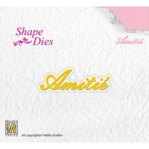 Nellies Choice Shape Die - FR - Amitée SD093