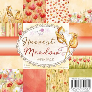 Wild Rose Studio's 6x6 Paper Pack Harvest Meadow a 36 VL PP050