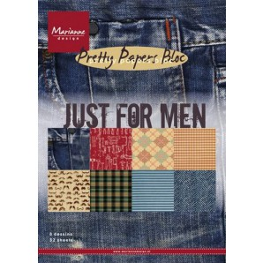 Marianne D Paper pad Just for men PK9129