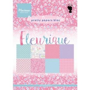 Marianne D Paper pad Fleurique PK9135 (New 07-16)