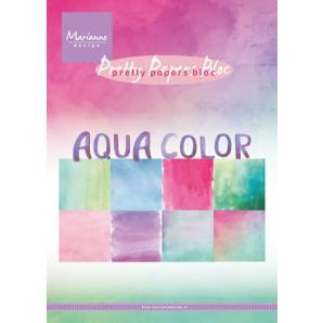 Marianne D Paper pad Aqua color PK9147 15x21 cm (06-17)