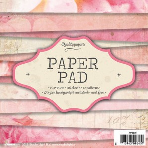 Studio Light Paper pad 36 vel 12 designs nr 35 PPSL35 15x15cm (10-16)