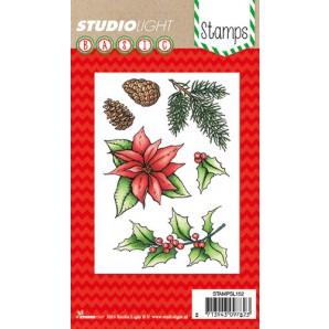 Studio Light Clearstempel A6 Kerstster nr 152 STAMPSL152 (11-16)