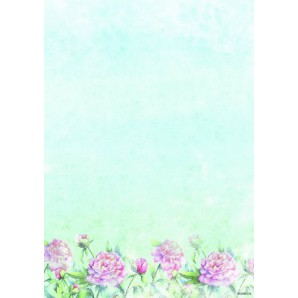 Studio Light Achtergrondpapier 10vel A4 Beautiful Flowers 216 BASISBF216 (new 05-16)