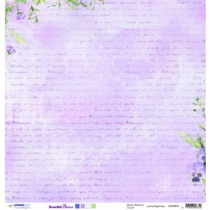 Studio Light Scrappapier 10vel 30,5x30,5 Beautiful Flowers 03 SCRAPBF03 (new 05-16)