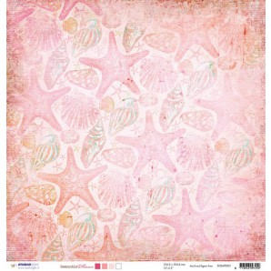 Studio Light Scrappapier 10vel 30,5x30,5 Romantic Summer 01 SCRAPRS01 (07-16)