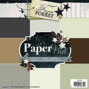 Studio Light Paper pad 36 vel 12 designs Frozen Forest nr 38 PPFF38 15x15cm (09-2016)