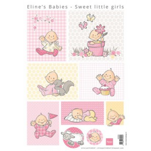 Marianne D 3D Knipvellen Eline's sweet little girls AK0064 A4 (01-17)