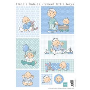 Marianne D 3D Knipvellen Eline's sweet little boys AK0065 A4 (01-17)